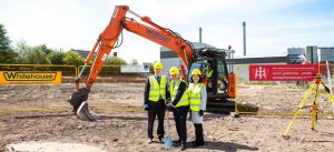Ground breaking for Energy Way