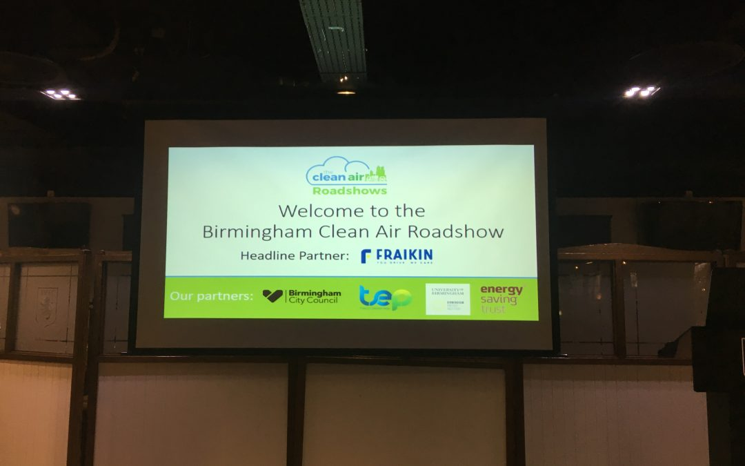 Birmingham Clean Air Roadshow