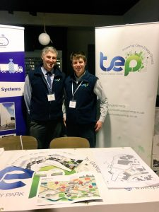 Tyseley Energy Park exhibited and presented at the Clean Air Roadshow