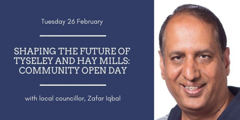Shaping the future of Tyseley and Hay Mills – Community Open Day
