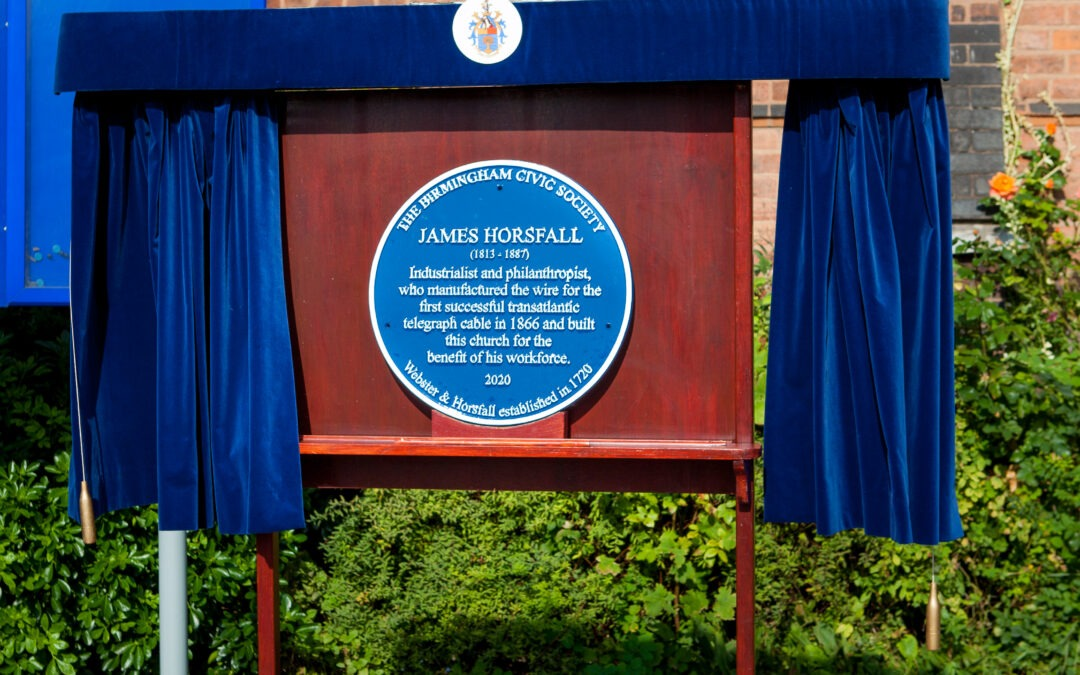Blue Plaque unveiled at 300-year old Birmingham family business