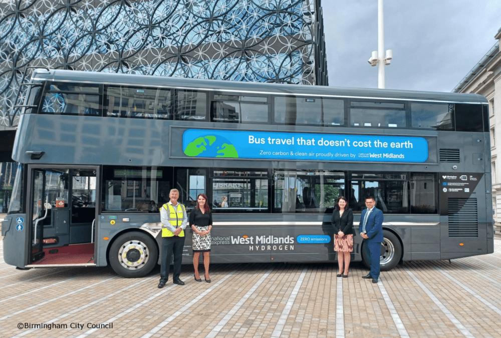 Birmingham's First Hydrogen Bus
